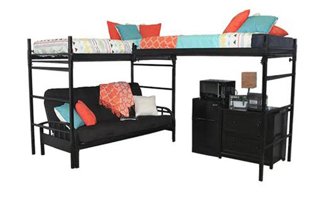 Check Out Our Exclusive Futons That Complement Loft Systems And Personal Safes Give An Added Sense Of Security To Students Pas